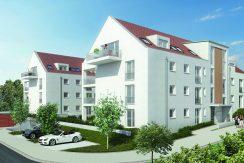 Aichtalstraße Holzgerlingen Ansicht der Gebäude