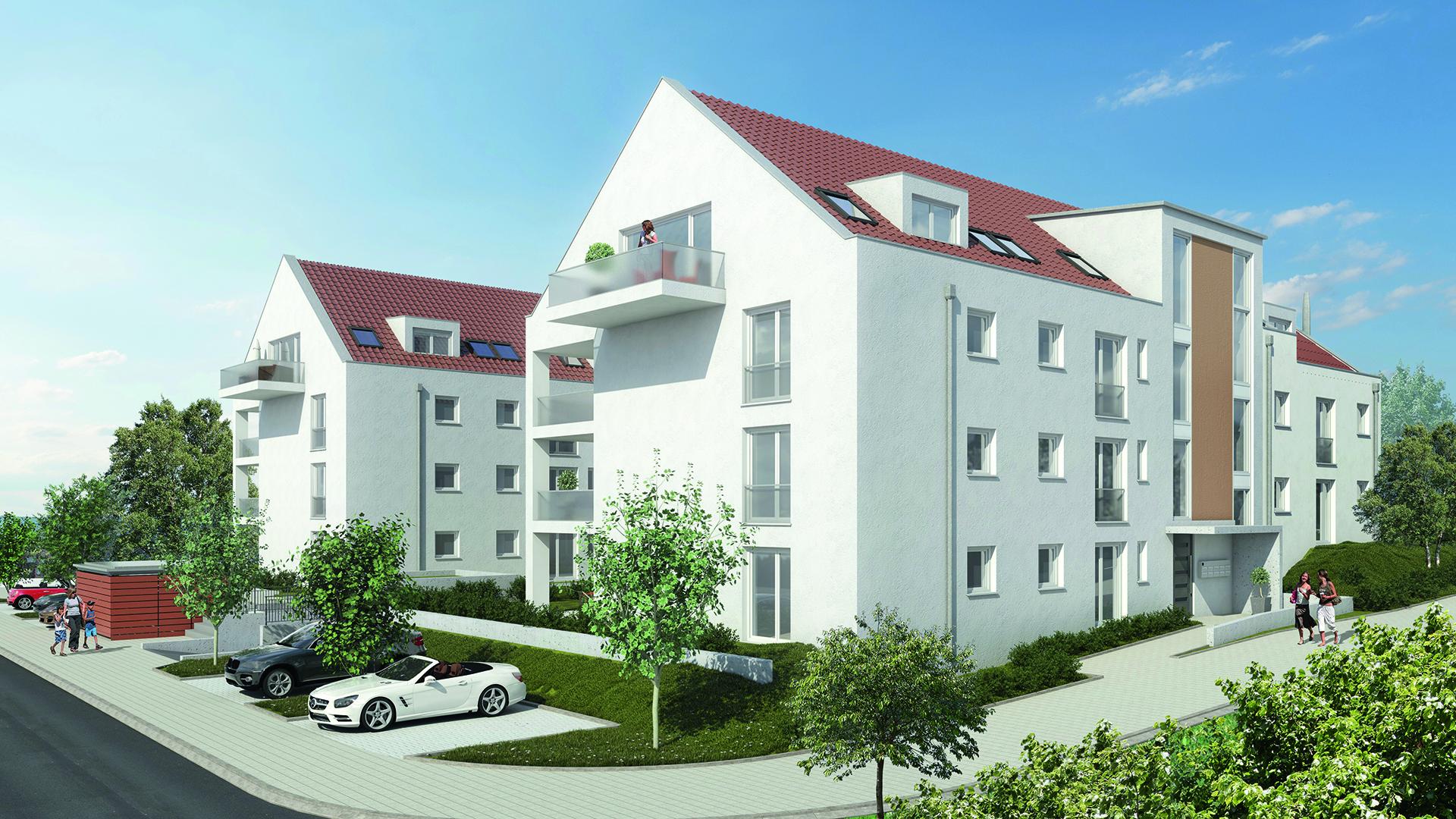 Individuelles Wohnen im Grünen, Aichtalstraße, Holzgerlingen