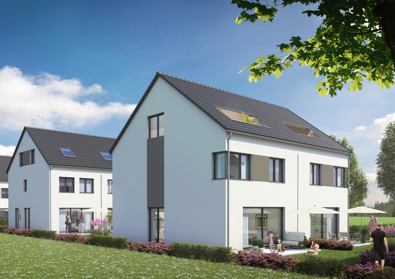 RESERVIERT! Willkommen daheim! Doppelhaushälfte mit Terrasse und Gartenanteil sowie einer Dachterrasse mit Süd-West-Ausrichtung