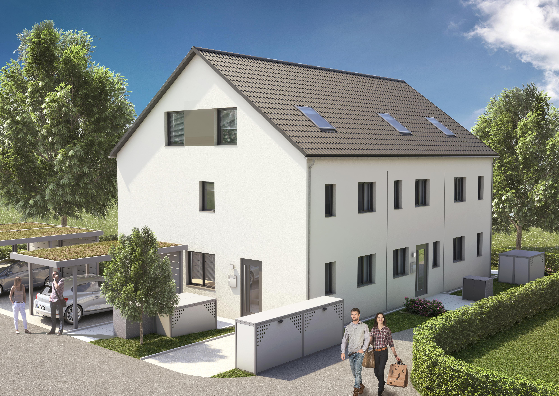 RESERVIERT! Überzeugender Grundriss! Reihenmittelhaus mit Terrasse und Gartenanteil sowie Dachterrasse