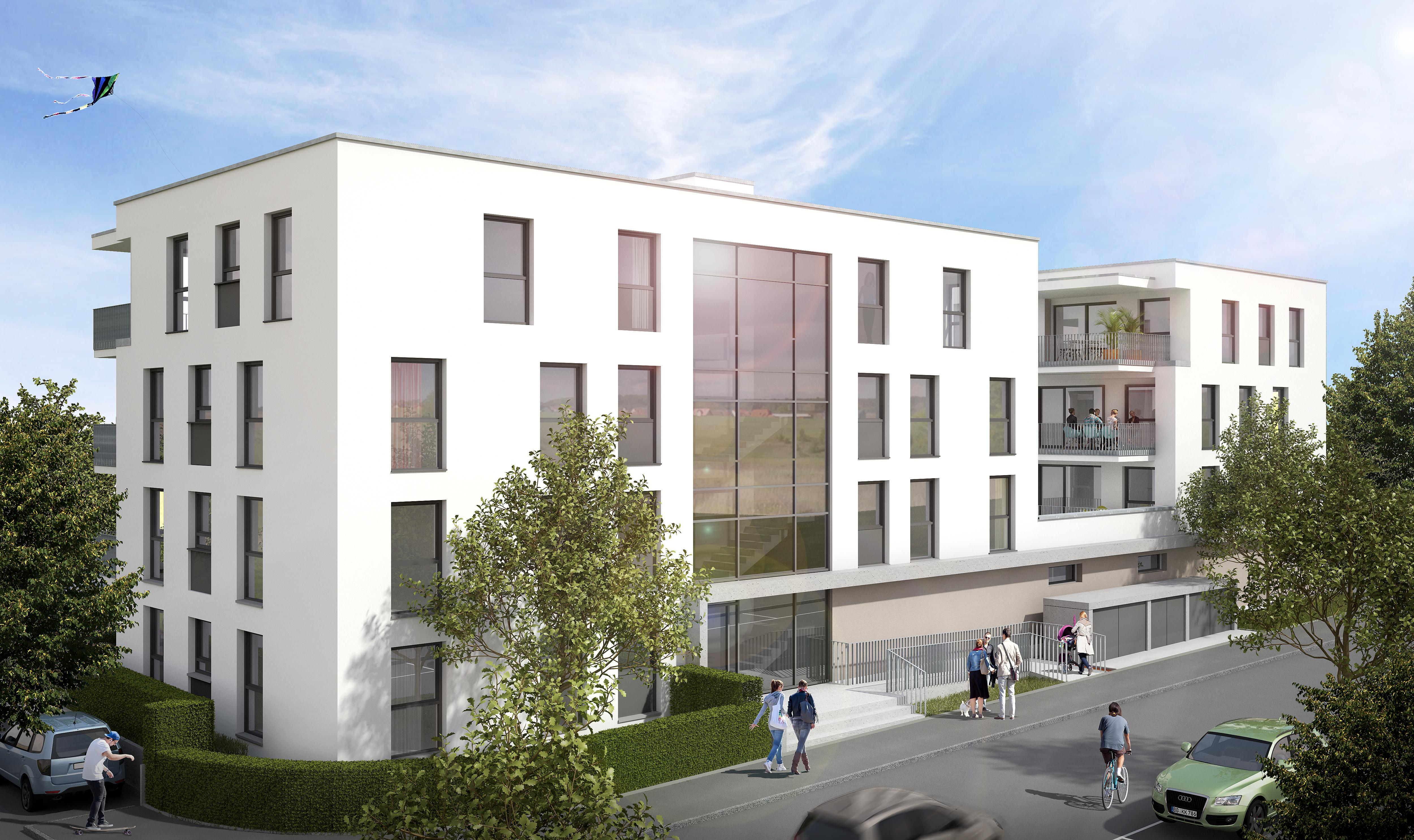 Ideales Raumkonzept! 4-Zimmer-Dachgeschosswohnung mit großzügiger Dachterrasse