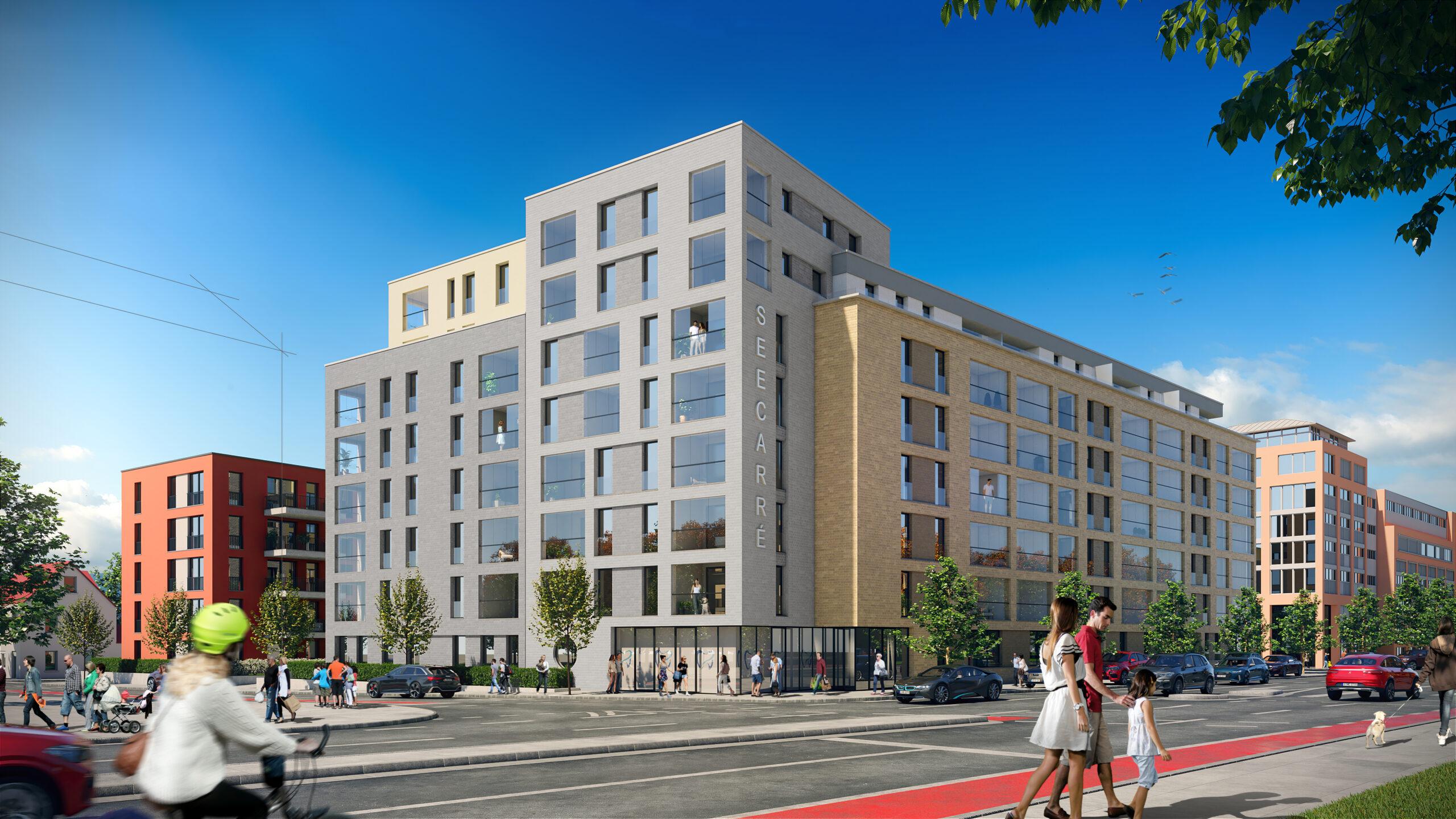 Im Herzen der Stadt! 3-Zimmer-Eigentumswohnung mit Süd-Balkon