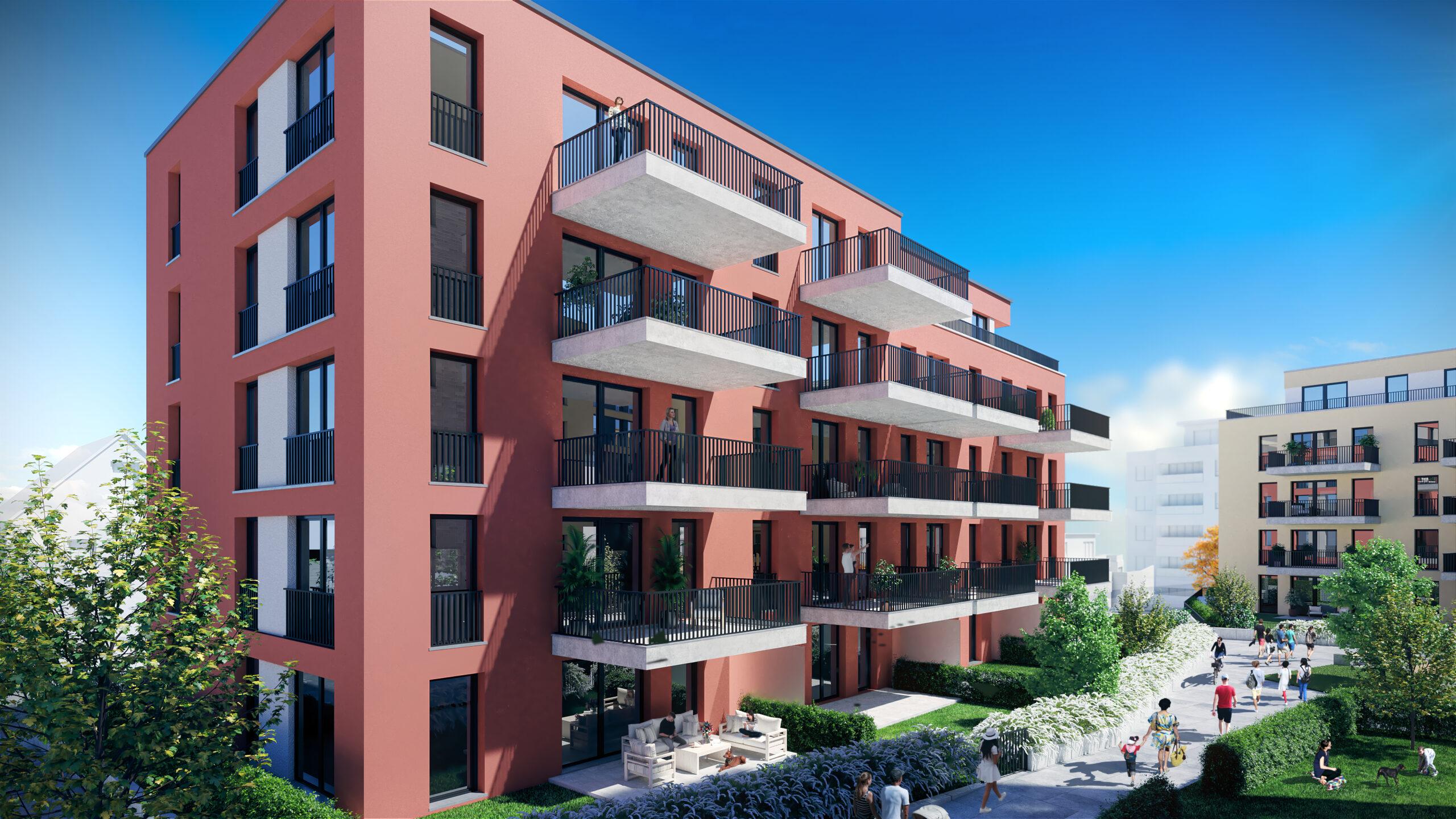 Ihr Traum vom Eigenheim! 4-Zimmer-Eigentumswohnung mit Süd-Balkon