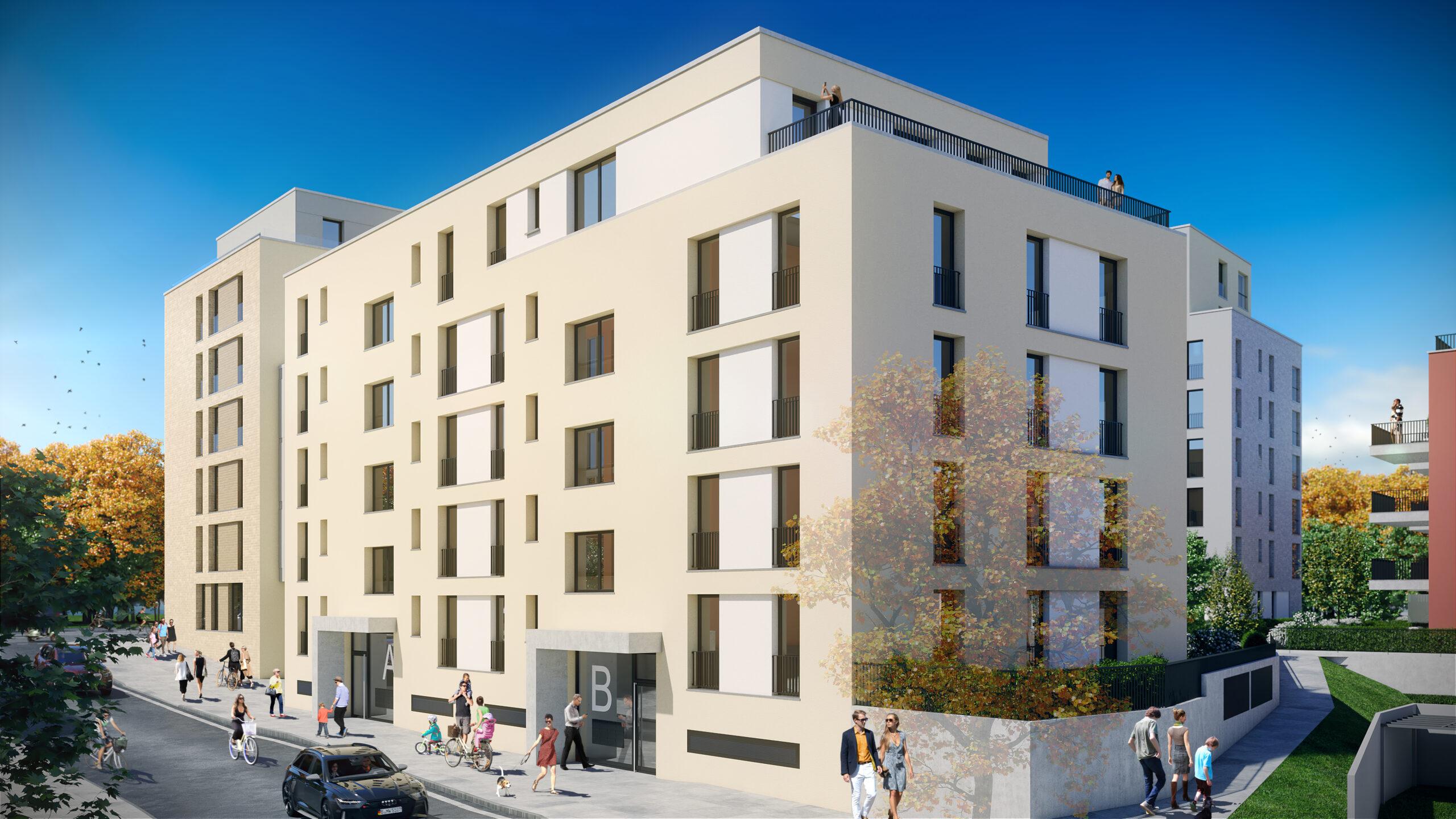 Die perfekte Altersvorsorge! 3-Zimmer-Wohnung mit Balkon in West-Ausrichtung